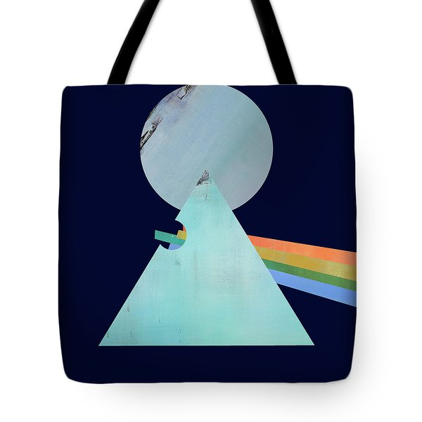 The Floyd's Dark Side Tote Bag by Jacquie Gouveia