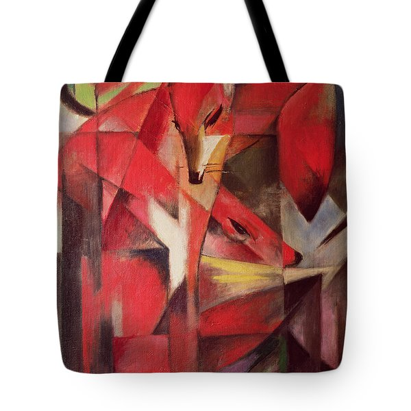 The Fox Tote Bag by Franz Marc