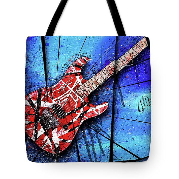 The Frankenstrat Vii Cropped Tote Bag by Gary Bodnar