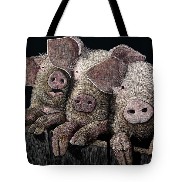 The Girls Tote Bag by Linda Hiller