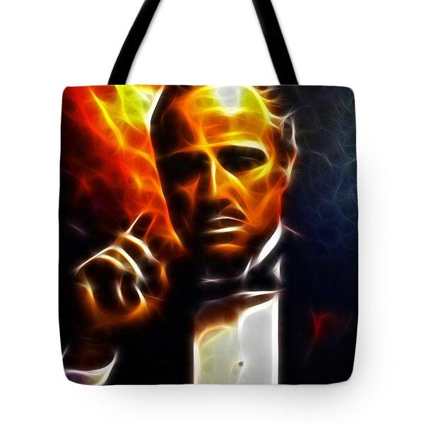 The Godfather Tote Bag by Pamela Johnson