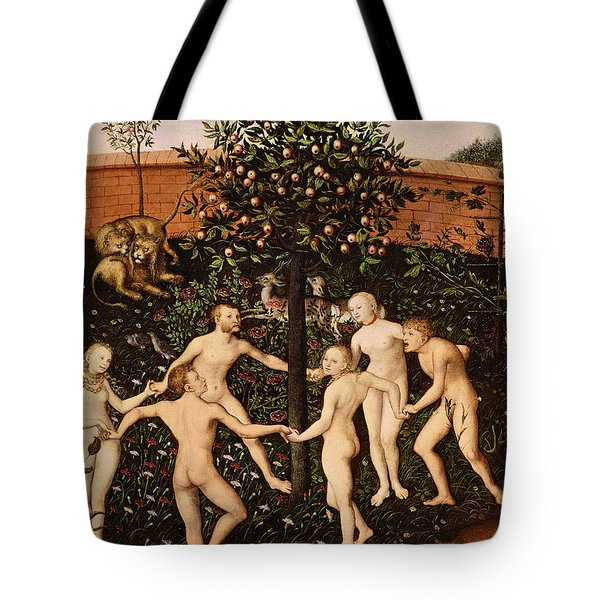 The Golden Age Tote Bag by Lucas Cranach