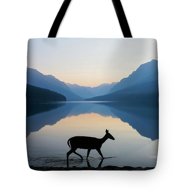 The Grace Of Wild Things Tote Bag by Dustin  LeFevre