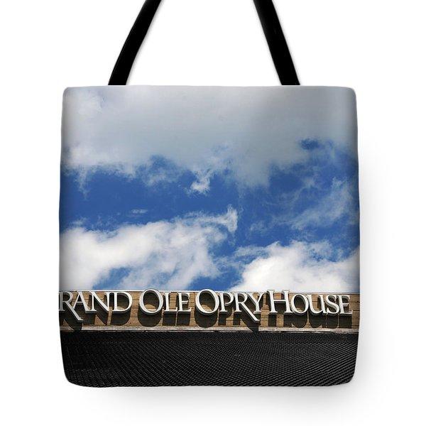 The Grand Ole Opry Nashville Tn Tote Bag by Susanne Van Hulst