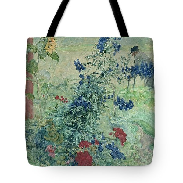 The Grandfather Tote Bag by Carl Larsson