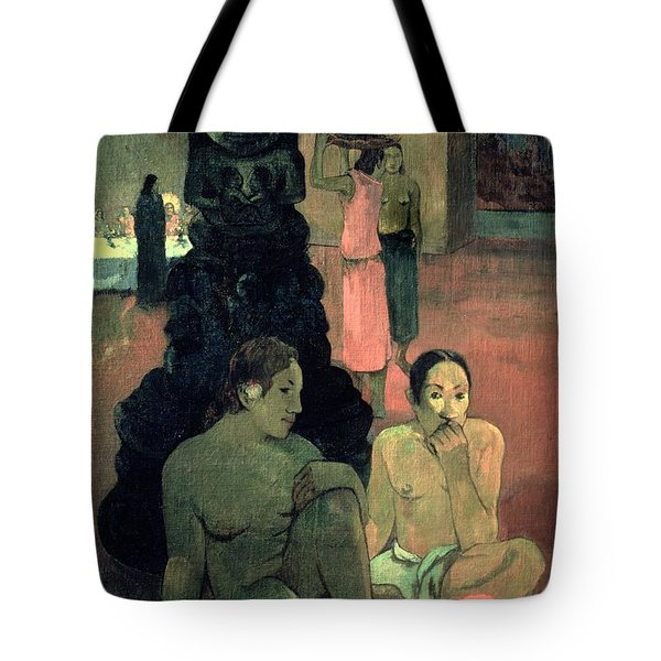 The Great Buddha Tote Bag by Paul Gauguin