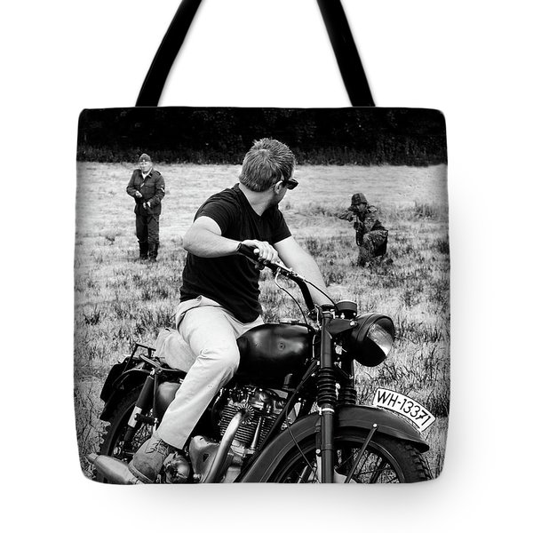 The Great Escape Tote Bag by Mark Rogan
