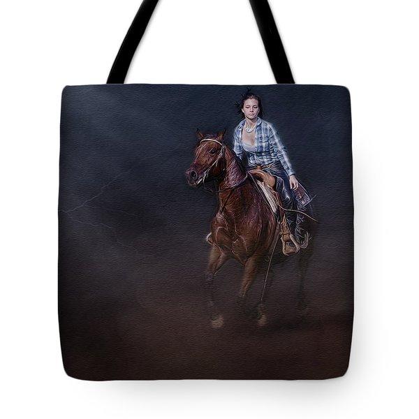 The Great Escape Tote Bag by Susan Candelario
