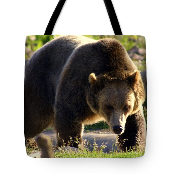The Grizz Tote Bag by Marty Koch