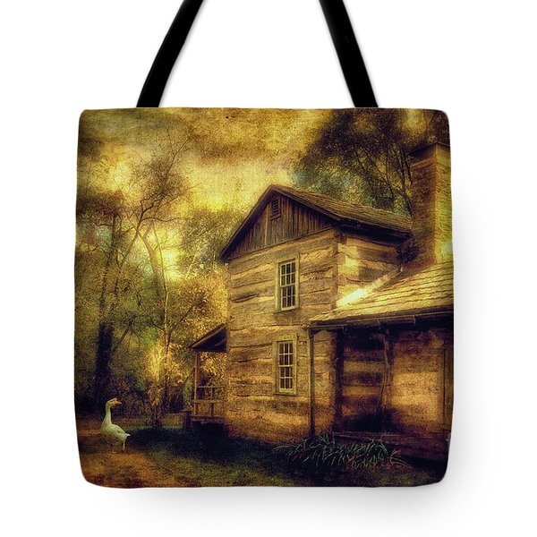 The Guardian Tote Bag by Lois Bryan