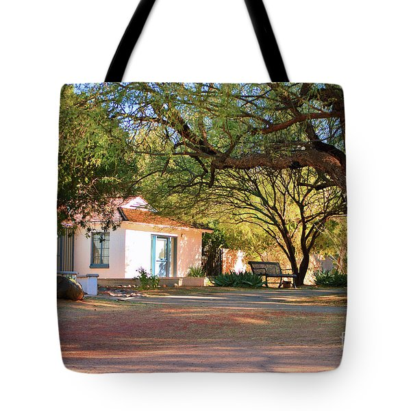 The Guest House  Tote Bag by Donna Van Vlack