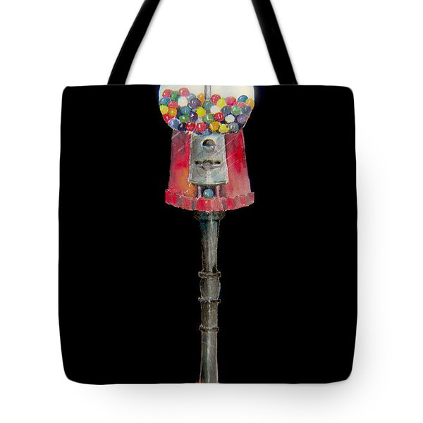 The Gumball Machine Tote Bag by Arline Wagner