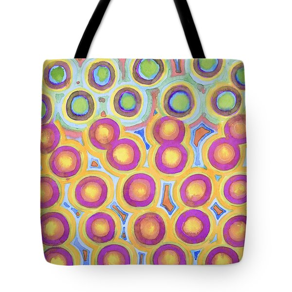 The Happy Eights Tote Bag by Heidi Capitaine