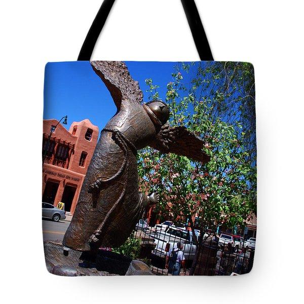 The Happy San Francis Tote Bag by Susanne Van Hulst