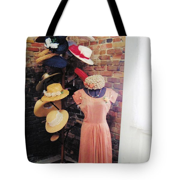 The Hat Rack Tote Bag by Jan Amiss Photography