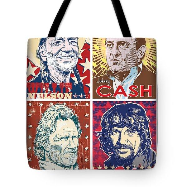 The Highwaymen Tote Bag by Jim Zahniser
