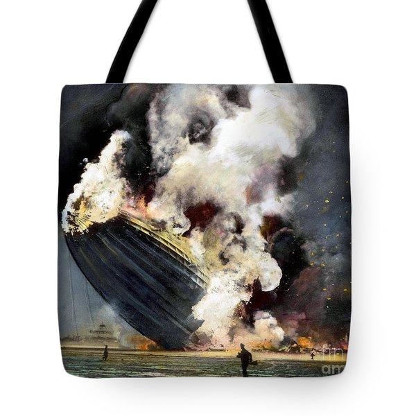 The Hindenburg, 1937 Tote Bag by Granger