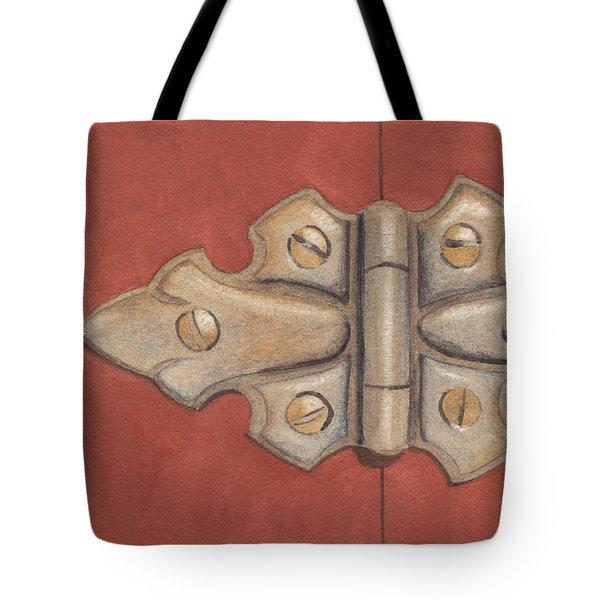The Hinge Tote Bag by Ken Powers