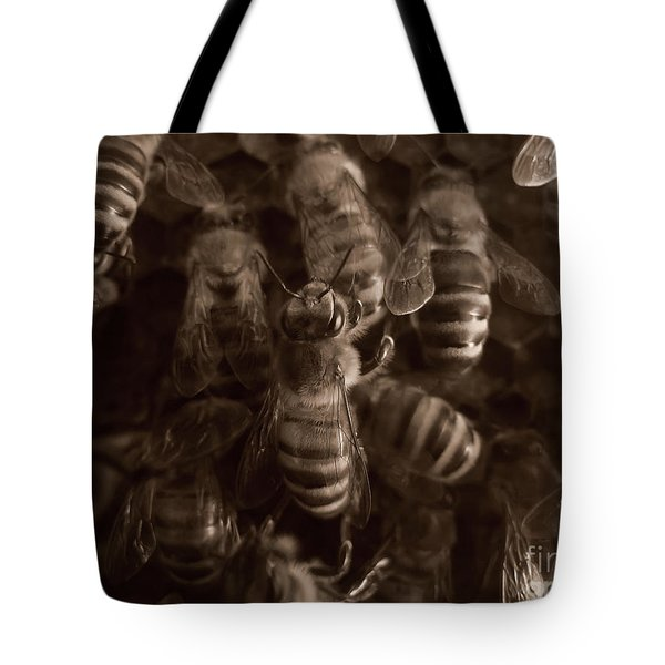 The Hive Tote Bag by Jeff Breiman