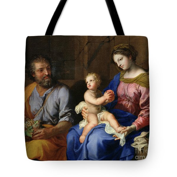 The Holy Family Tote Bag by Jacques Stella