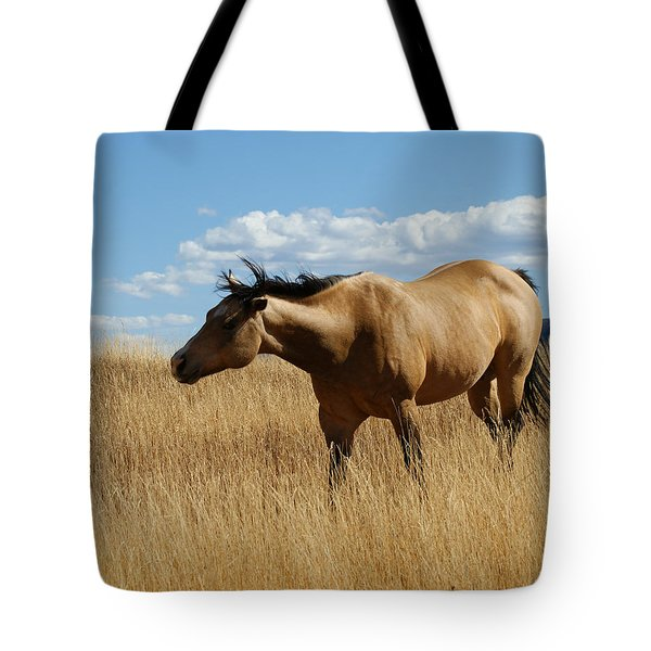 The Horse Tote Bag by Ernie Echols