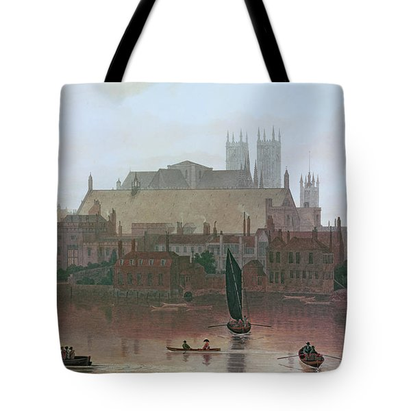 The Houses Of Parliament Tote Bag by George Fennel Robson