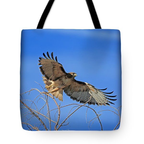 The Hunt Tote Bag by Donna Kennedy