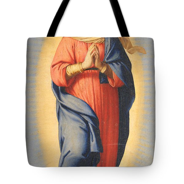 The Immaculate Conception Tote Bag by Il Sassoferrato