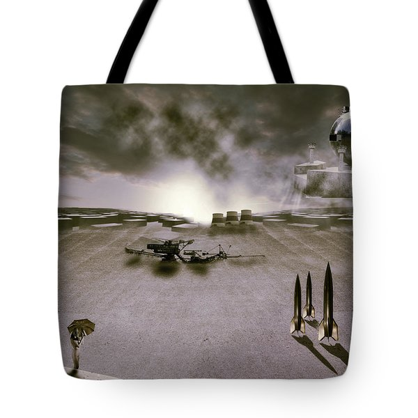 The industrial revolution Tote Bag by Nathan Wright