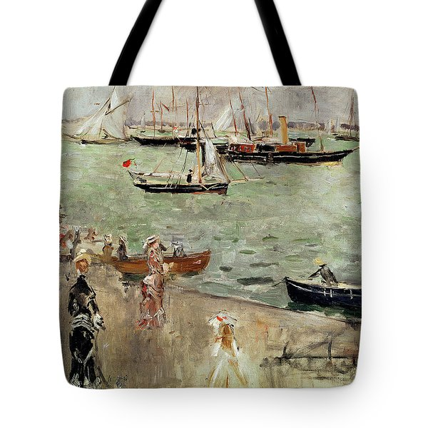 The Isle Of Wight Tote Bag by Berthe Morisot