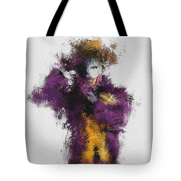 The Joker Tote Bag by Miranda Sether