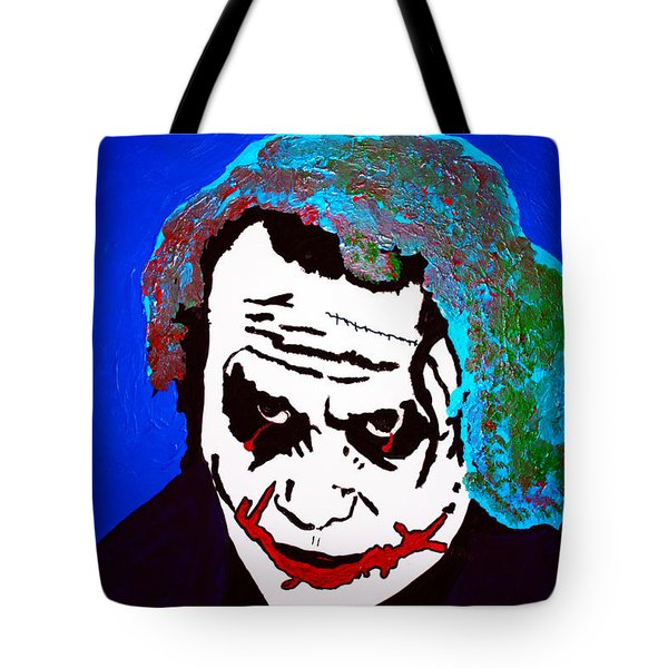 The Joker Sucking On A Pistol Tote Bag by Robert Margetts