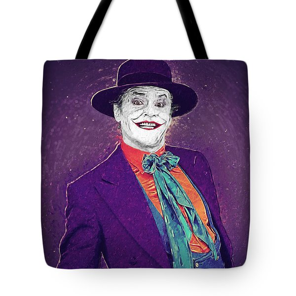 The Joker Tote Bag by Taylan Soyturk
