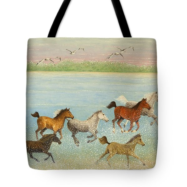 The Joy Of Freedom Tote Bag by Pat Scott
