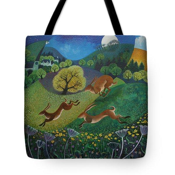 The Joy Of Spring Tote Bag by Lisa Graa Jensen