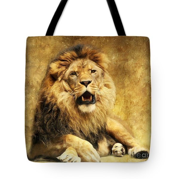 The King Tote Bag by Angela Doelling AD DESIGN Photo and PhotoArt