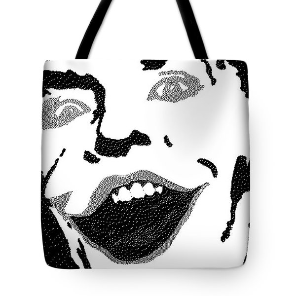 the last joke Tote Bag by Robert Margetts