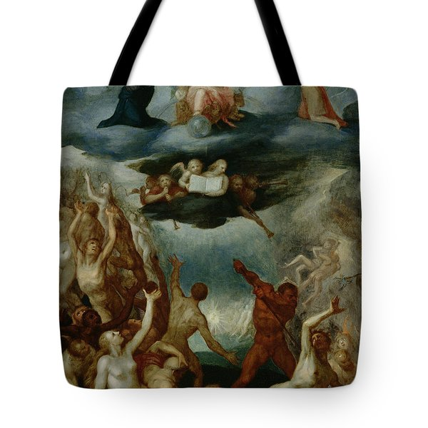 The Last Judgement  Tote Bag by Martin Pepyn