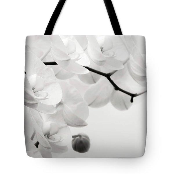 The Last Orchid Tote Bag by Wim Lanclus