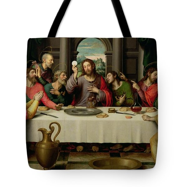 The Last Supper Tote Bag by Vicente Juan Macip