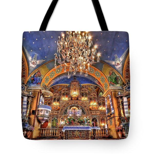 The Light Within Tote Bag by Evelina Kremsdorf