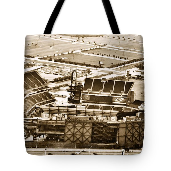 The Linc - Aerial View Tote Bag by Bill Cannon