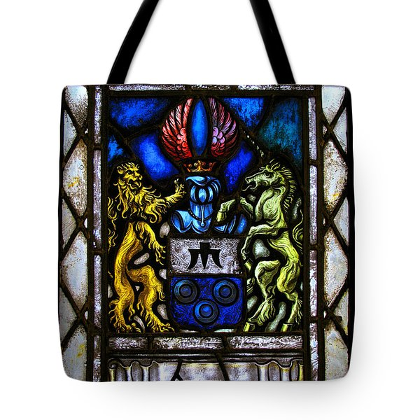 The Lion And The Unicorn Tote Bag by Colleen Kammerer