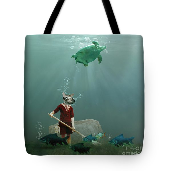 The Little Gardener Tote Bag by Martine Roch