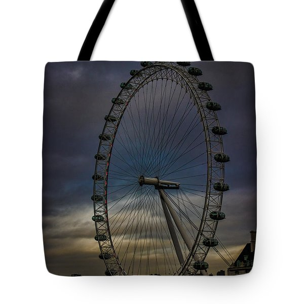 The London Eye Tote Bag by Martin Newman