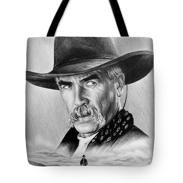 The Lone Rider Tote Bag by Andrew Read