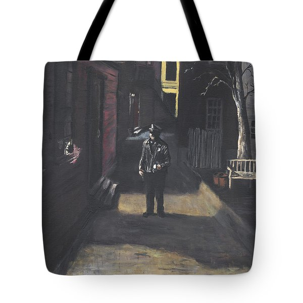 The Lonely Beat Tote Bag by Jack Skinner