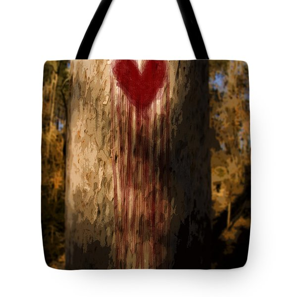 The Lonely Tree Tote Bag by Ryan Jorgensen