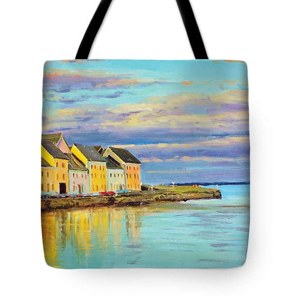 The Long Walk Galway Tote Bag by Conor McGuire
