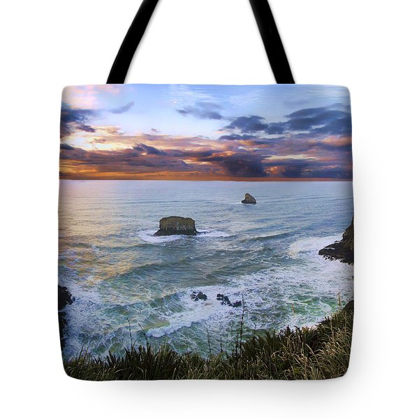The Lookout Tote Bag by James Heckt